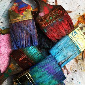 Målarpenslar, målare, måleri, målerifirma