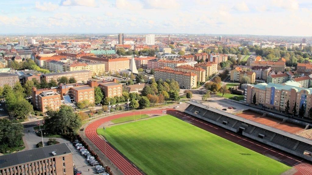 Malmö stad och arena